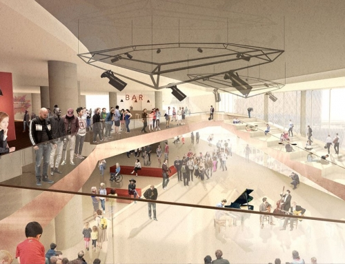 New project alert: Symphony Hall foyer redevelopment
