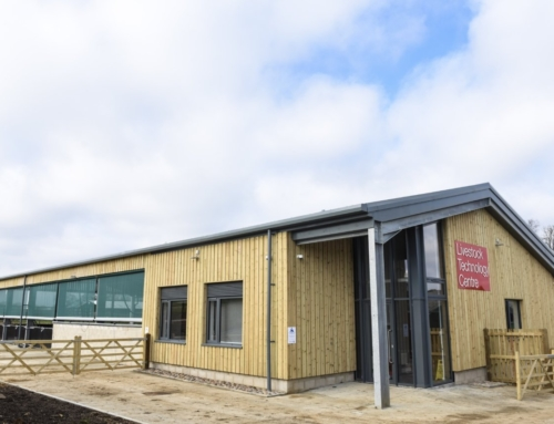 Project update – Agritech building, Common Leys Campus
