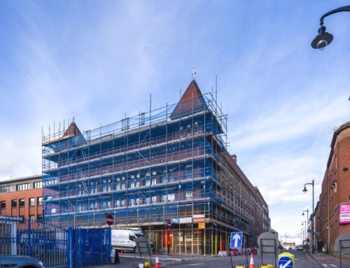 Project update: JQTH Project – Historic fabric Repair of The Argent Centre